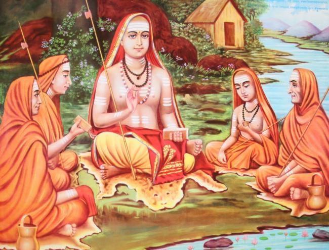 shankara with shishyas[1]